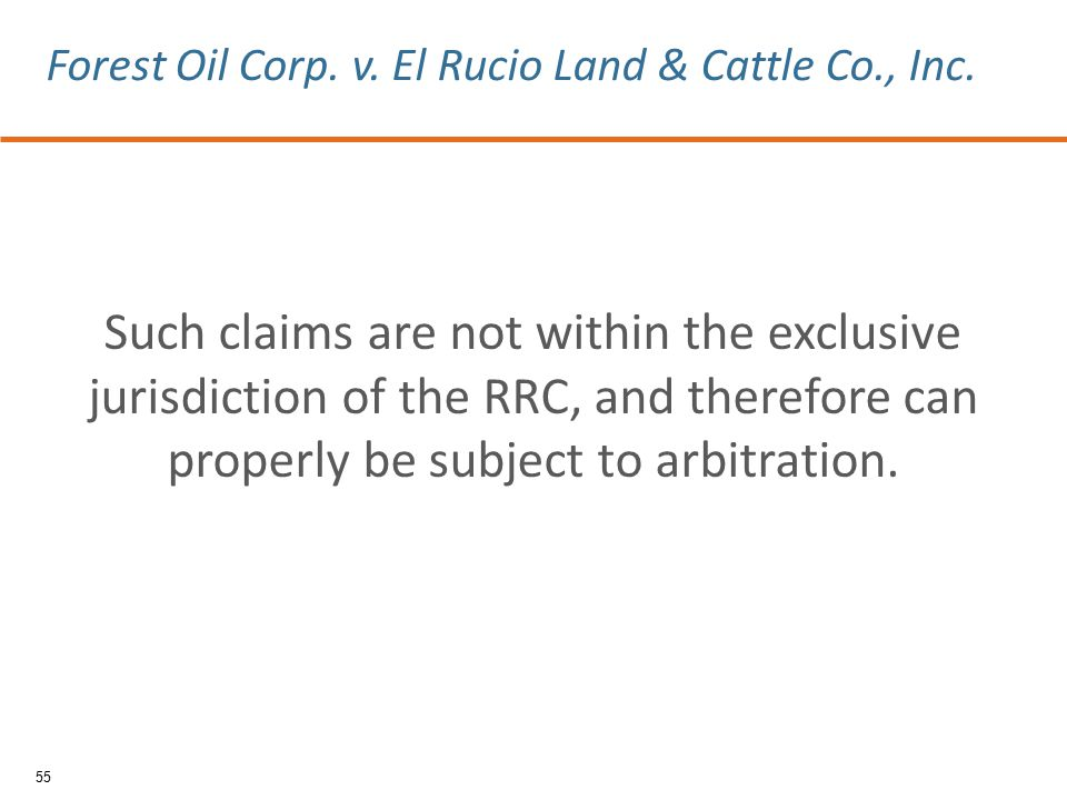 Such claims are not within the exclusive jurisdiction of the RRC, and therefore can properly be subject to arbitration.