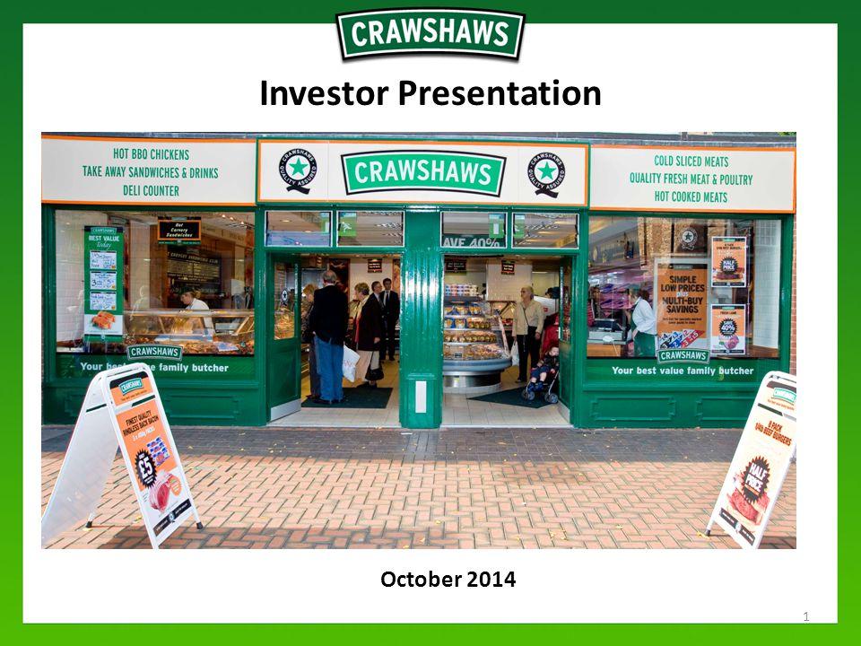 October 2014 Investor Presentation 1