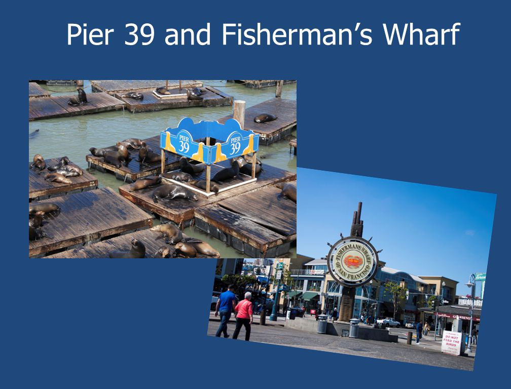 Pier 39 and Fisherman's Wharf
