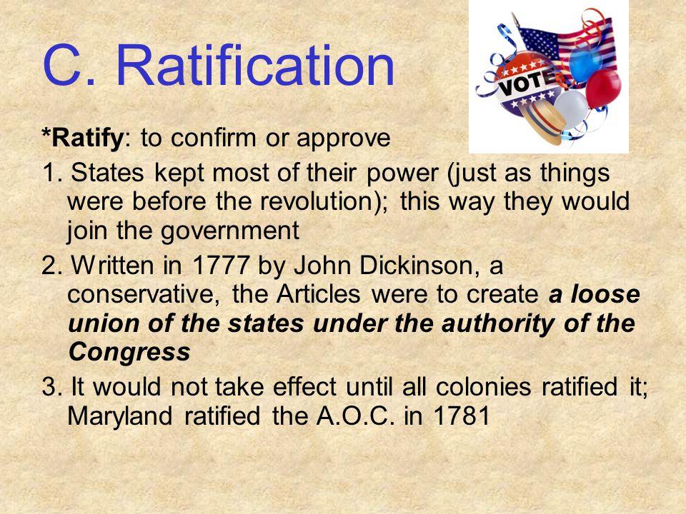 Worksheet F. Accomplishments (Cont.) 3. Northwest Ordinance (1787):