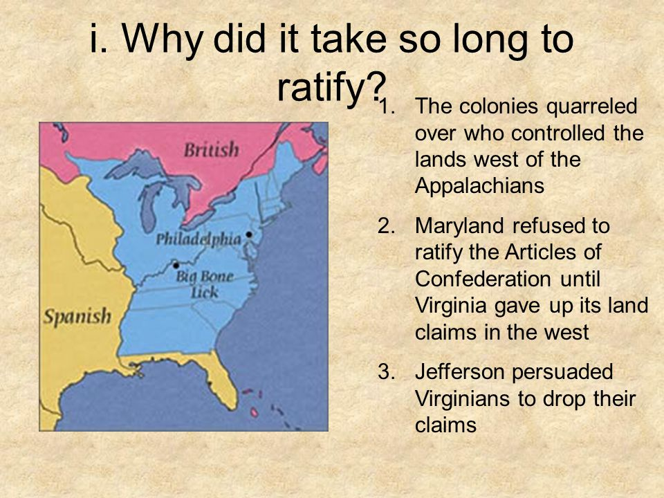 Comparing the Articles of Confederation & the U.S.