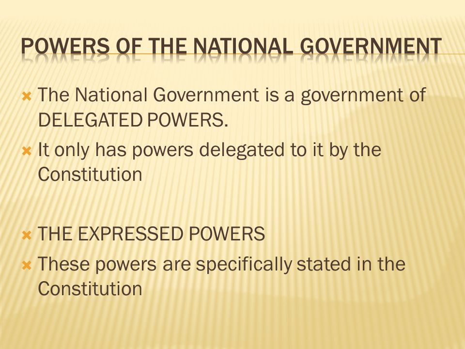  Most expressed powers for Congress are in Article I, Section 8.
