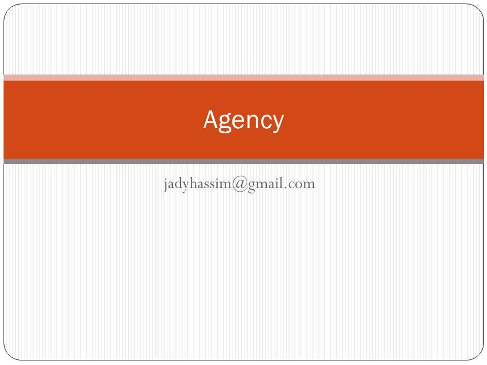 jadyhassim@gmail.com Agency