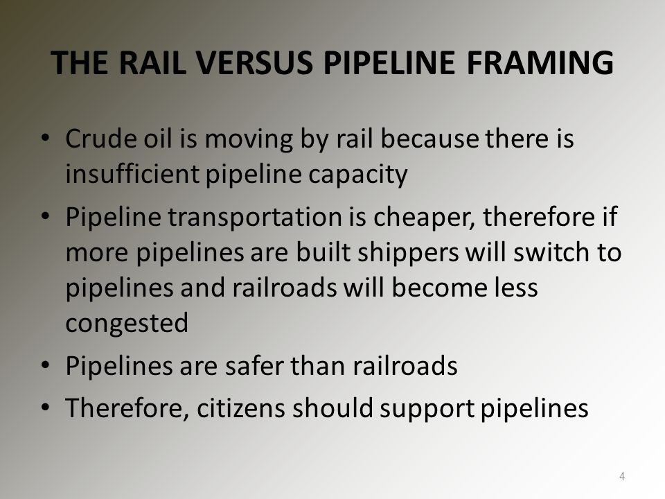 LIMITED SUPPORT FOR PIPELINES FROM SHIPPERS Pipeline projects cancelled due to lack of shipper interest include Dakota Express and Bakken Crude Express Of Enbridge's 185 ND shippers, only 15 even asked for the Sandpiper Pipeline pro forma TSA Shipper protest at FERC: – Virtually every governmental study shows that current pipeline and rail facilities are more than sufficient for the foreseeable future to transport Bakken crude oil production.... – The use of extensive rail transport clearly indicates that the market regards the availability, pricing and terms of service of rail transport as equally desirable as the pipeline service.... Crude oil take away capacity is expected to remain adequate as long as rail deliveries to coastal refineries keep growing. Lynn Helms, Director ND Industrial Commission, 9/12/2014 35