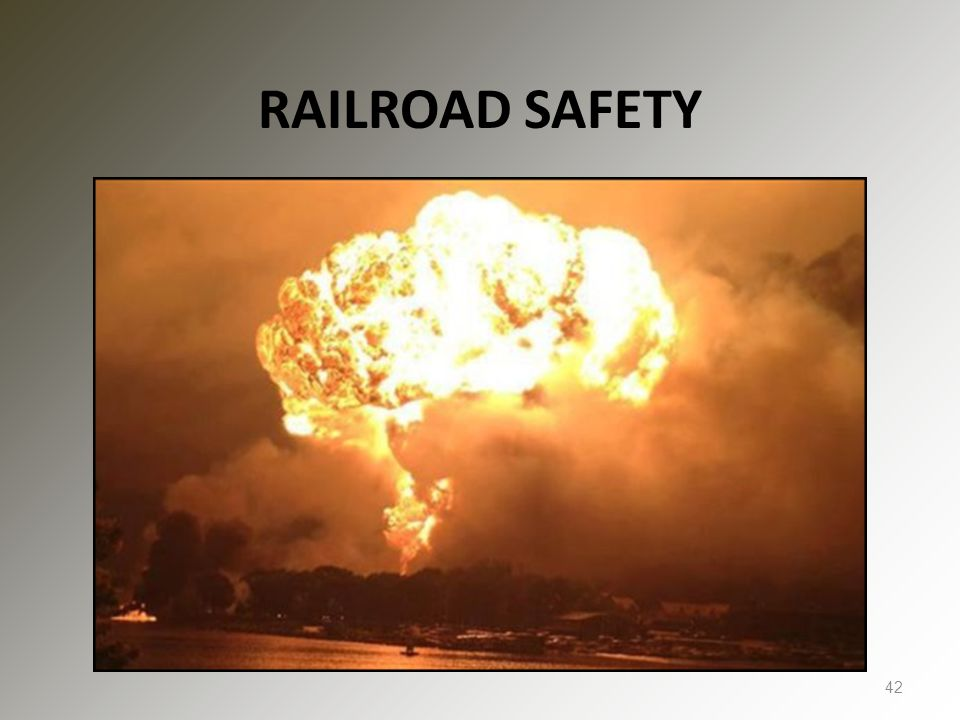 RAILROAD SAFETY 42