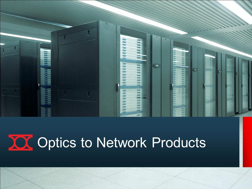 11 Inphi Proprietary and Confidential 11 Inphi Proprietary and Confidential Optics to Network Products