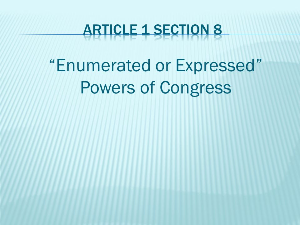 Clause 1: The Congress shall have Power To lay and collect Taxes, Duties, Imposts and Excises, to pay the Debts and provide for the common Defense and general Welfare of the United States; but all Duties, Imposts and Excises shall be uniform throughout the United States; All money must be used for public use.