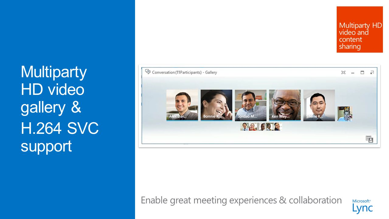 Enable great meeting experiences & collaboration