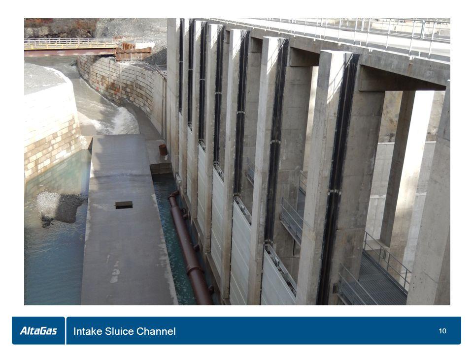 Intake Sluice Channel 10