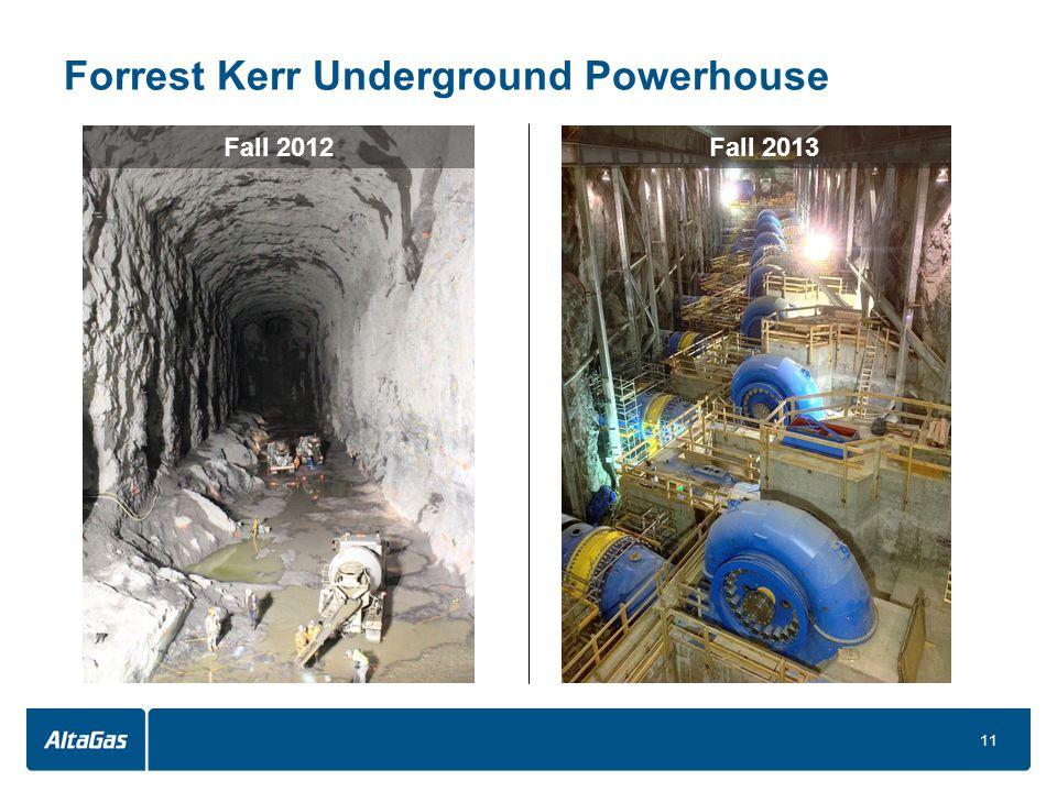 Forrest Kerr Underground Powerhouse 11 Fall 2012Fall 2013