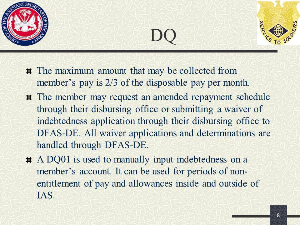 Types of Miscellaneous Debts 19