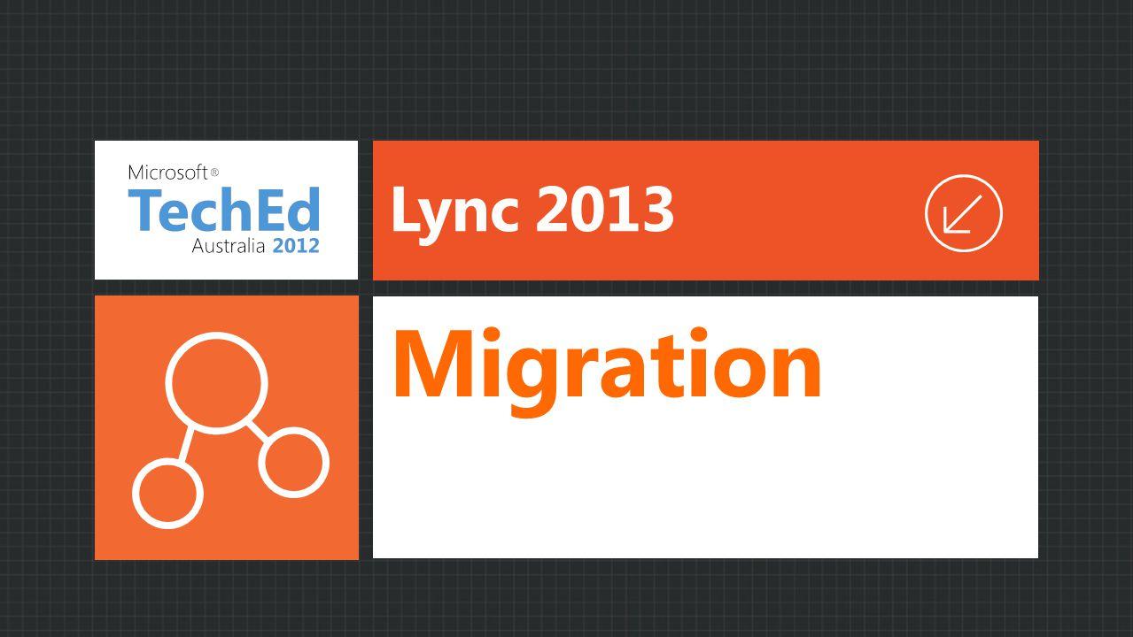 Lync 2013 Migration