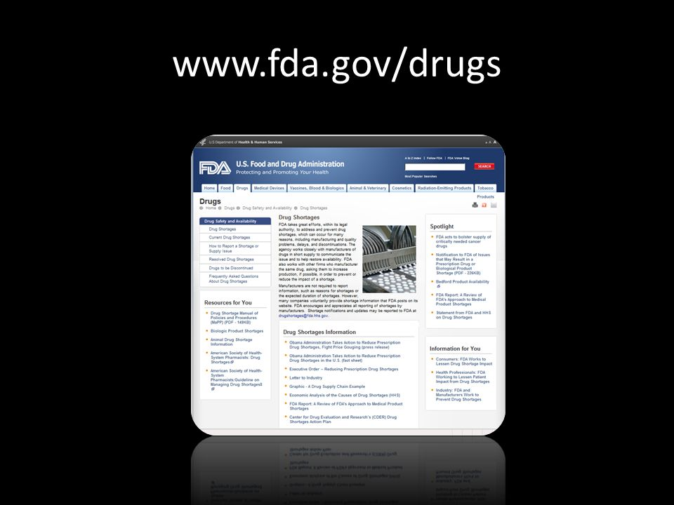www.fda.gov/drugs