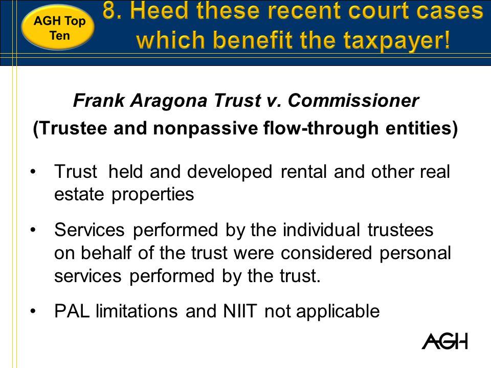 Frank Aragona Trust v.