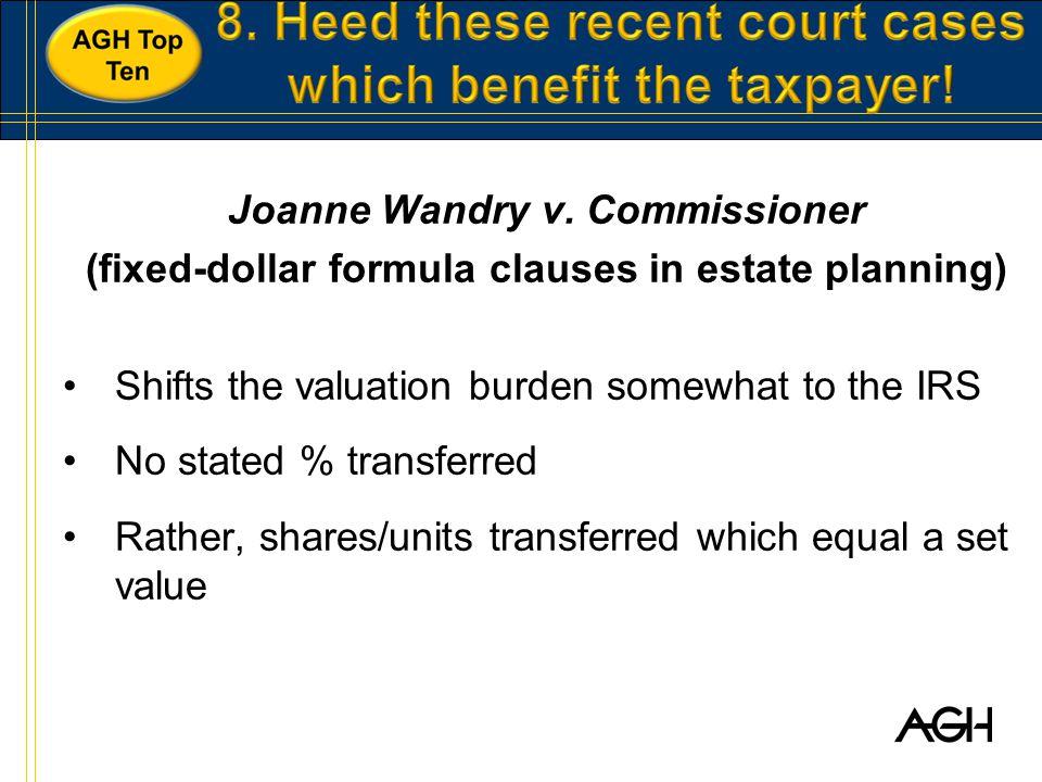 Joanne Wandry v.