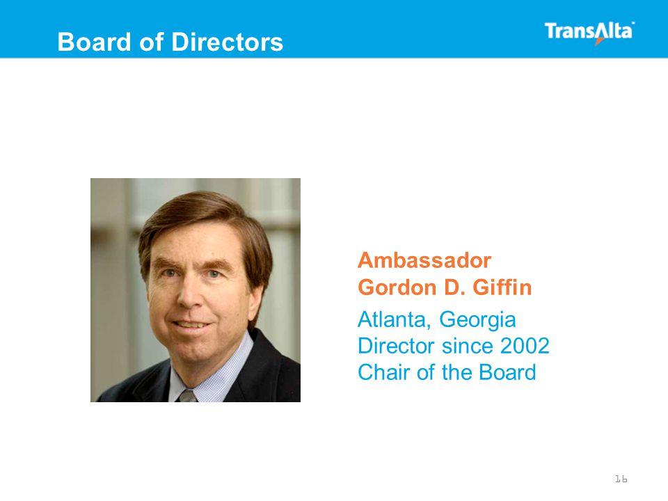Ambassador Gordon D.
