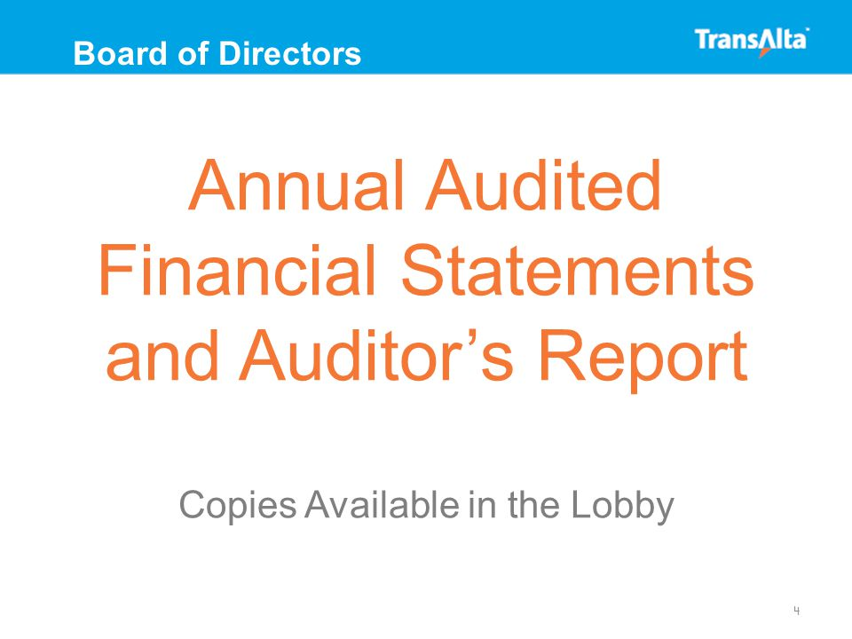 Election of Directors 5 Board of Directors