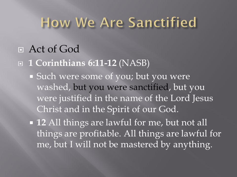  Spiritual disciplines  Prayer & fasting, giving, worship, scripture reading & memorization, serving, hospitality etc.