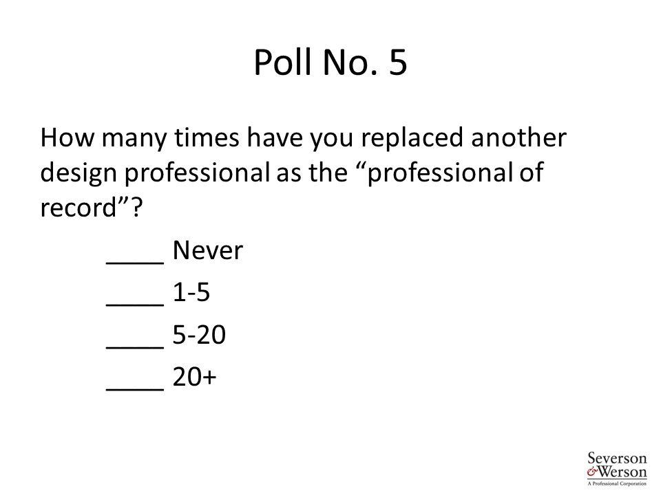 Poll No.