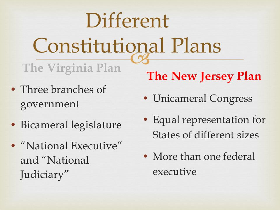 Constitutional Compromises  The Connecticut Compromise  Delegates agreed on a bicameral Congress, one segment with equal representation for States, and the other with representation proportionate to the States' populations.