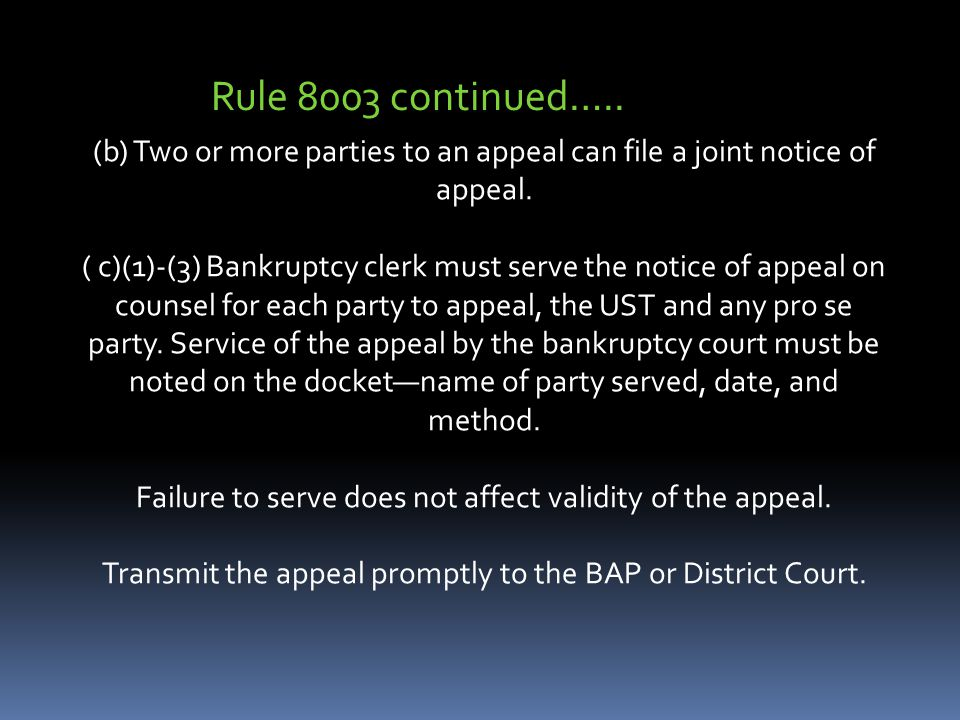 (b) Two or more parties to an appeal can file a joint notice of appeal.