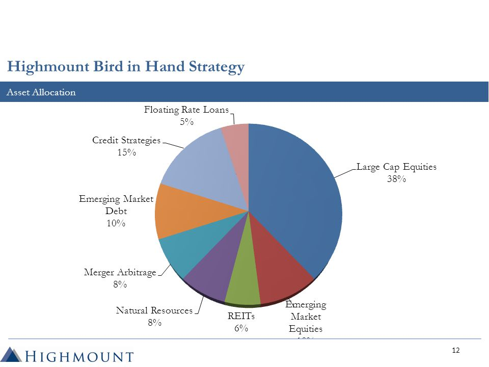 Asset Allocation Highmount Bird in Hand Strategy 12