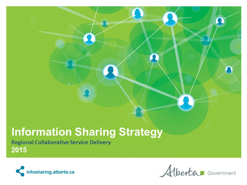 Information Sharing Strategy Regional Collaborative Service Delivery 2015