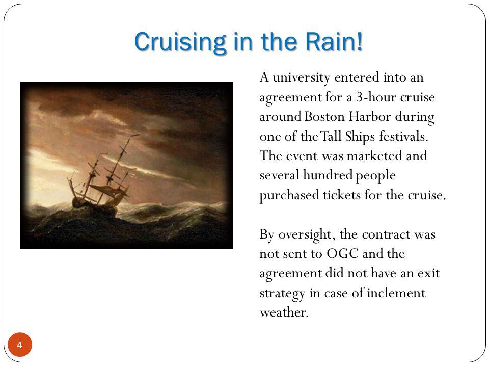 Cruising in the Rain.