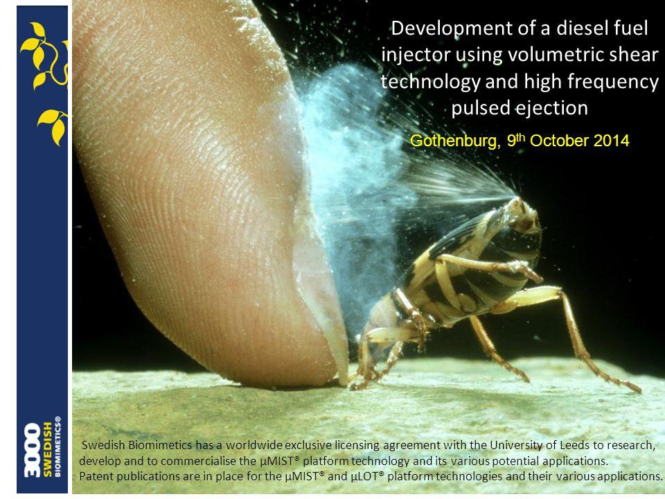 ©Swedish Biomimetics 3000® Results and predictions
