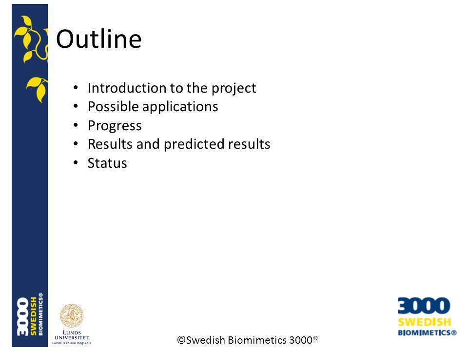 ©Swedish Biomimetics 3000® Introduction