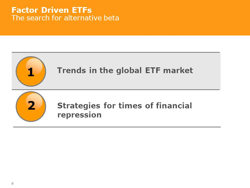 7 Trends in the global ETF market Growth and drivers Source: ETF Landscape, Blackrock, March 31, 2012 Assets Under Management: US$1.73 trillion Products: 4450 10-yr Compound Annual Growth Rate: 31.0%