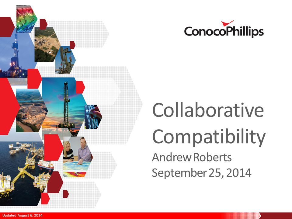 Updated August 6, 2014 Collaborative Compatibility Andrew Roberts September 25, 2014