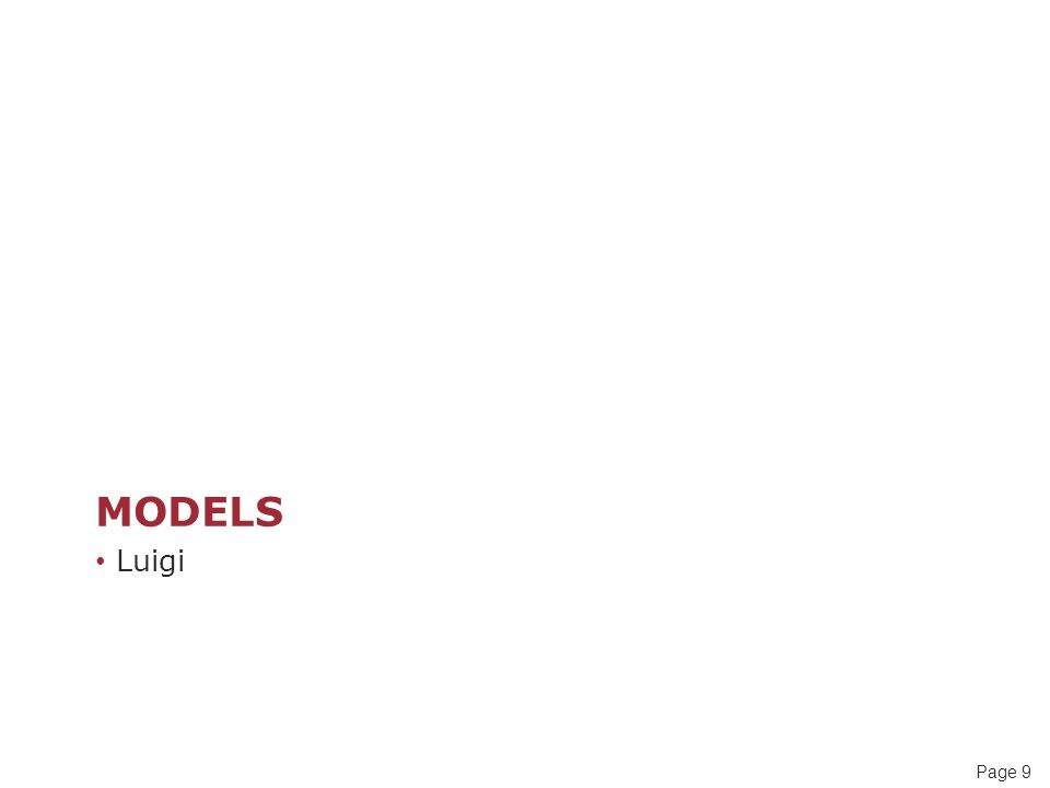 Page 30 Process Modelling Framework One such approach (for process modeling) is a 7-view framework that has been adopted by the BSi – the national standards body for the UK.