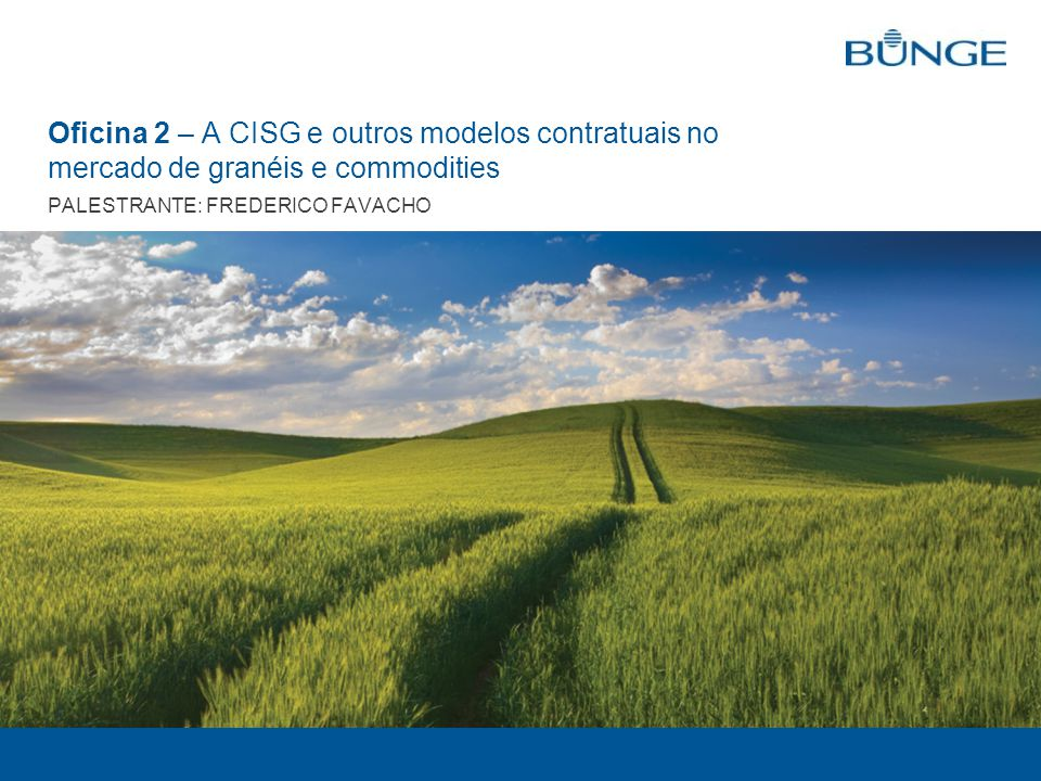 LEGAL DEPARTMENT - BRAZIL 2 What are Commodities.