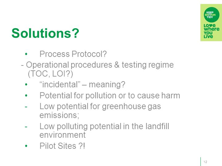 Solutions. Process Protocol.