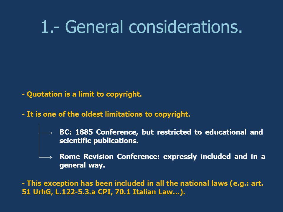 4.- Conclussions.