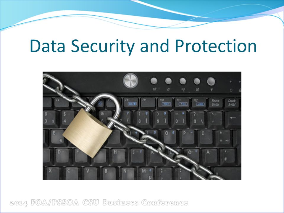 Data Security and Protection