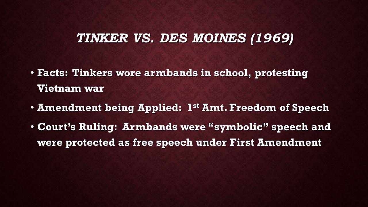 TINKER VS.