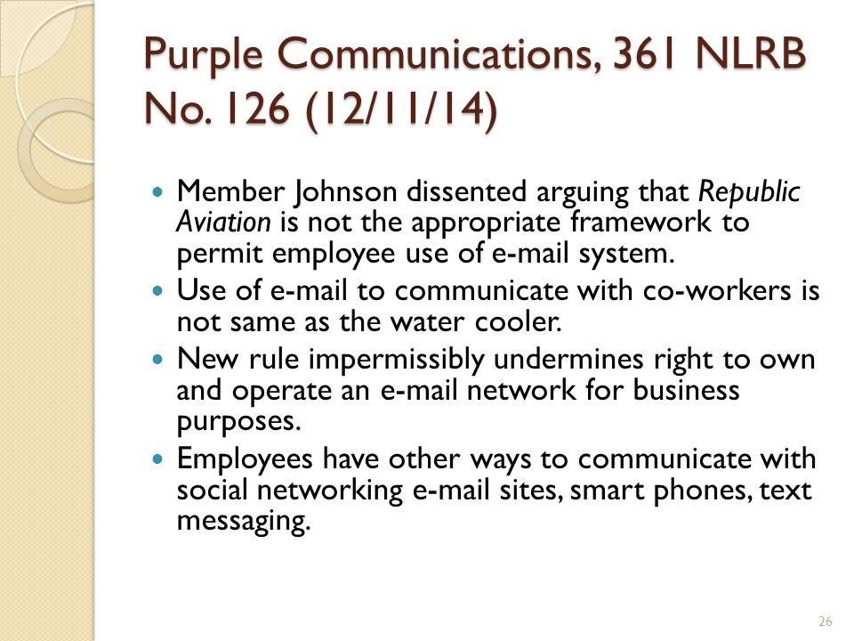 Purple Communications, 361 NLRB No.