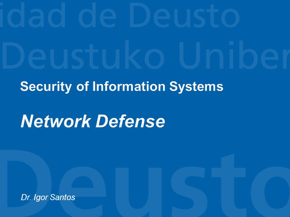  NIDS  Use packet sniffers (sensors) to capture network traffic  The content of each packet is analyzed for malicious patterns  The sensors are usually located at critical points in the network that have to be monitored: ▪ The DMZ ▪ Network Endpoints 32