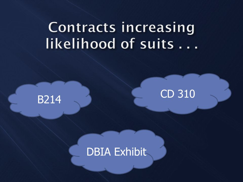 B214 CD 310 DBIA Exhibit