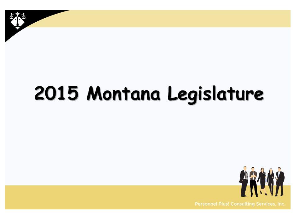 2015 Montana Legislature