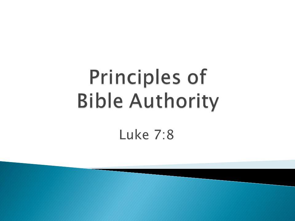 Luke 7:8