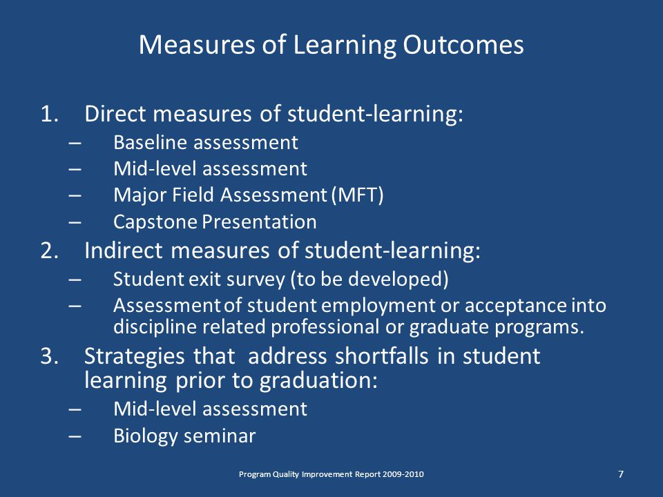 8 ItemTime LineHuman Resources Needed Fiscal Resources Needed Develop a retention plan to deal with student attrition in BIOL 1364 and 1474 1 yearEntire departmentNot determined Obtain guidance in exam validation for baseline and mid-level assessment exams.