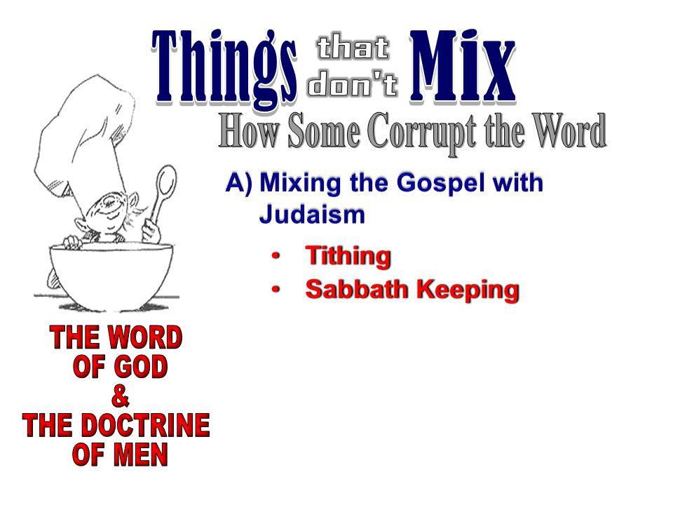 TithingTithing Sabbath KeepingSabbath Keeping