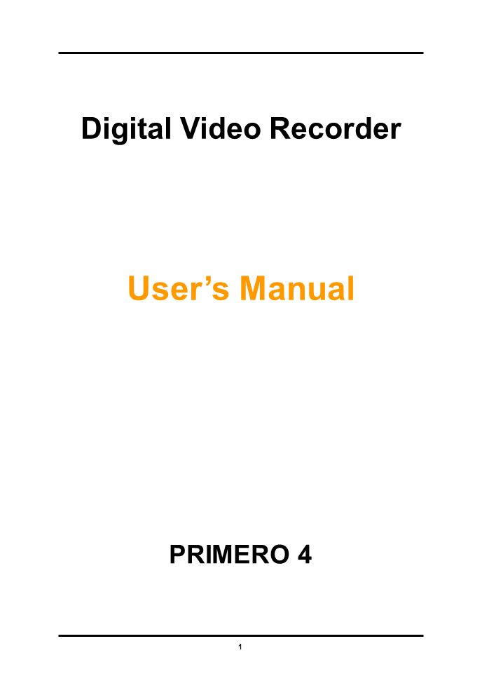 62 2.Server Management Enter the appropriate data of your DVR server.