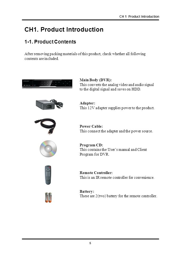 36 CH 3 How to Use 4) Event In With this menu, you can set sensor input, motion detection setup.