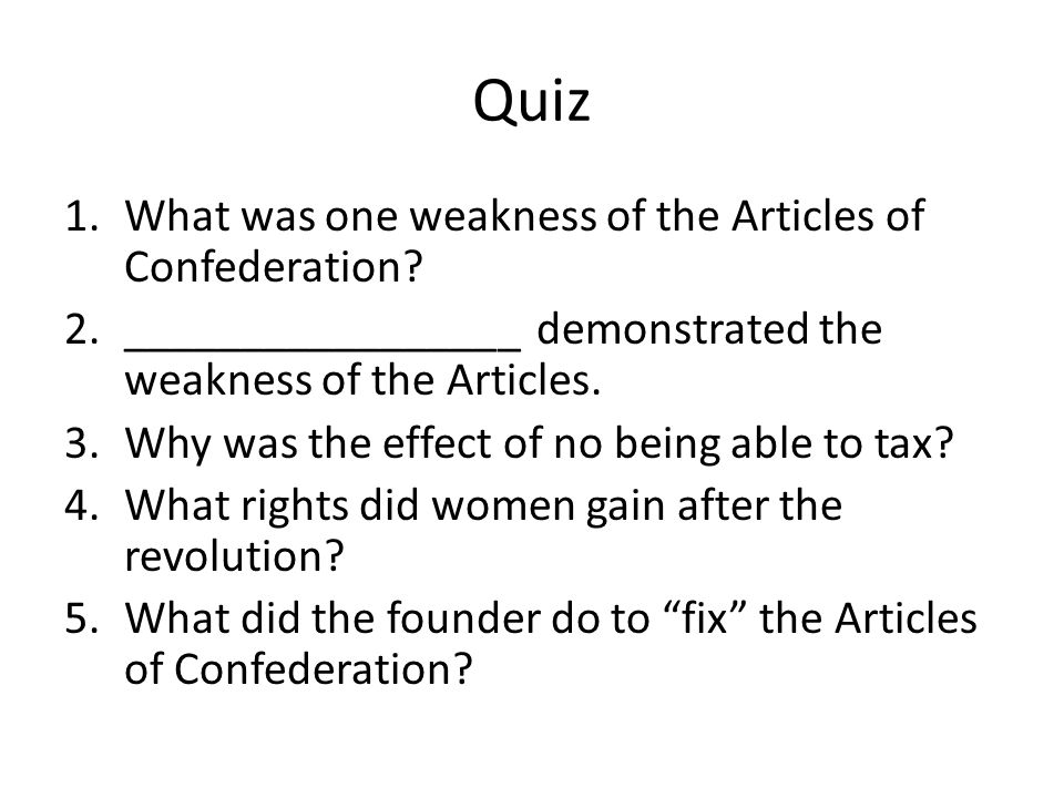 Quiz 9 1.____________= power to the people 2.