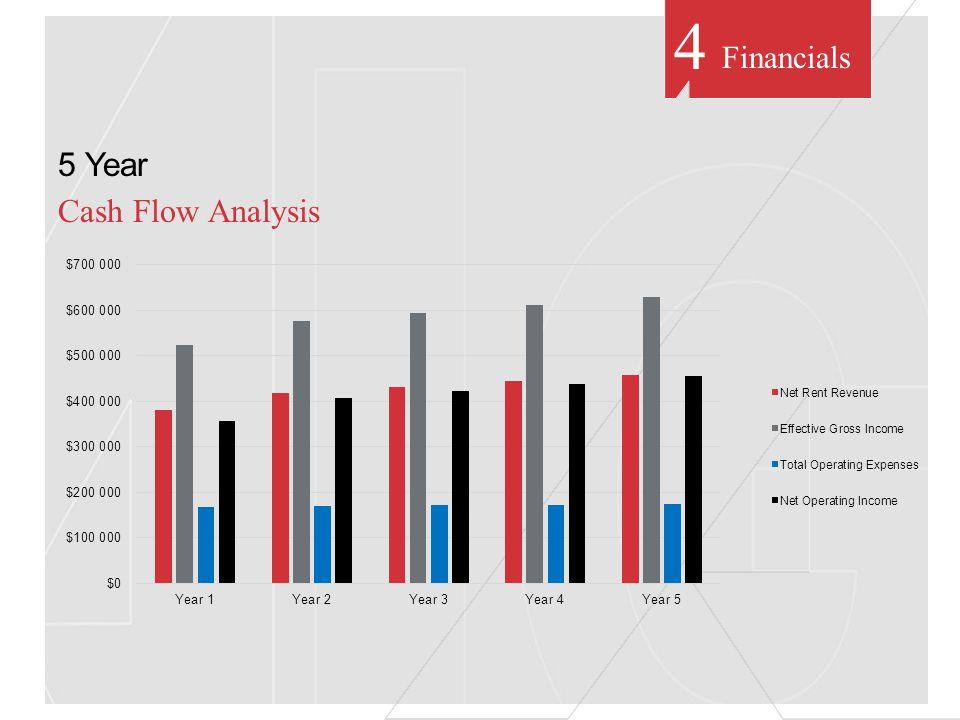 Financials 5 Year Cash Flow Analysis 4