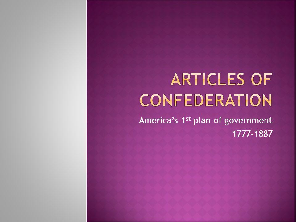  Article I.